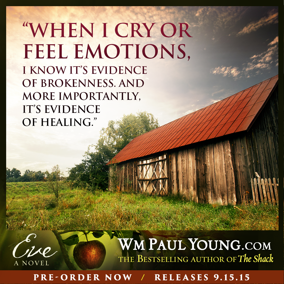 Farm Quotes 5 Quotes From William Paul Young  Wmpaul Young