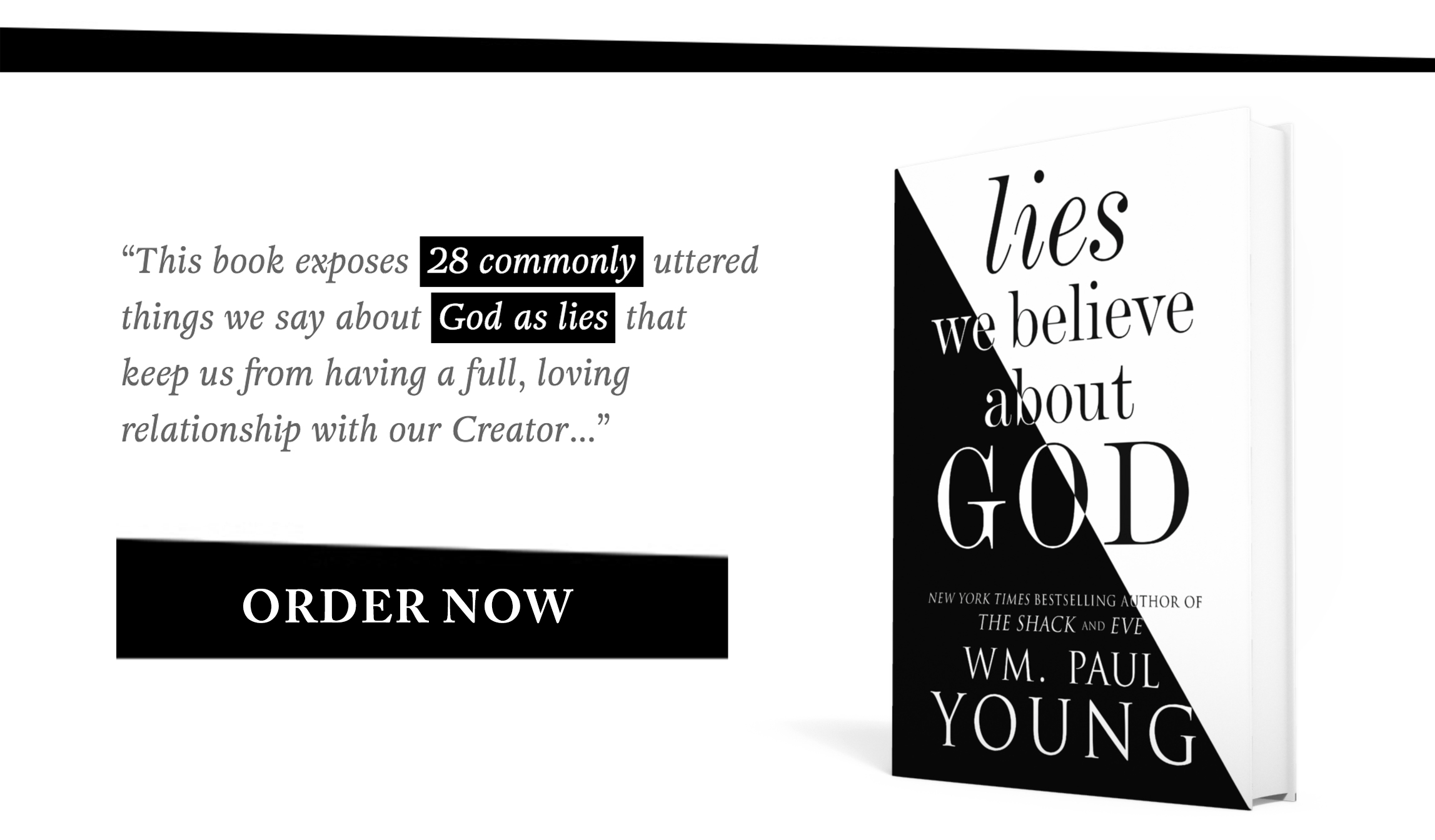 Lies We Believe About God Wm Paul Young