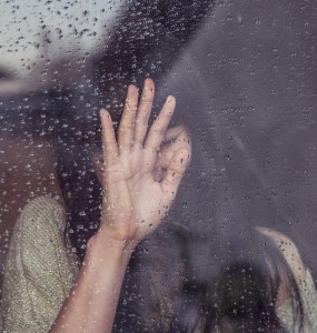 Window pane tears