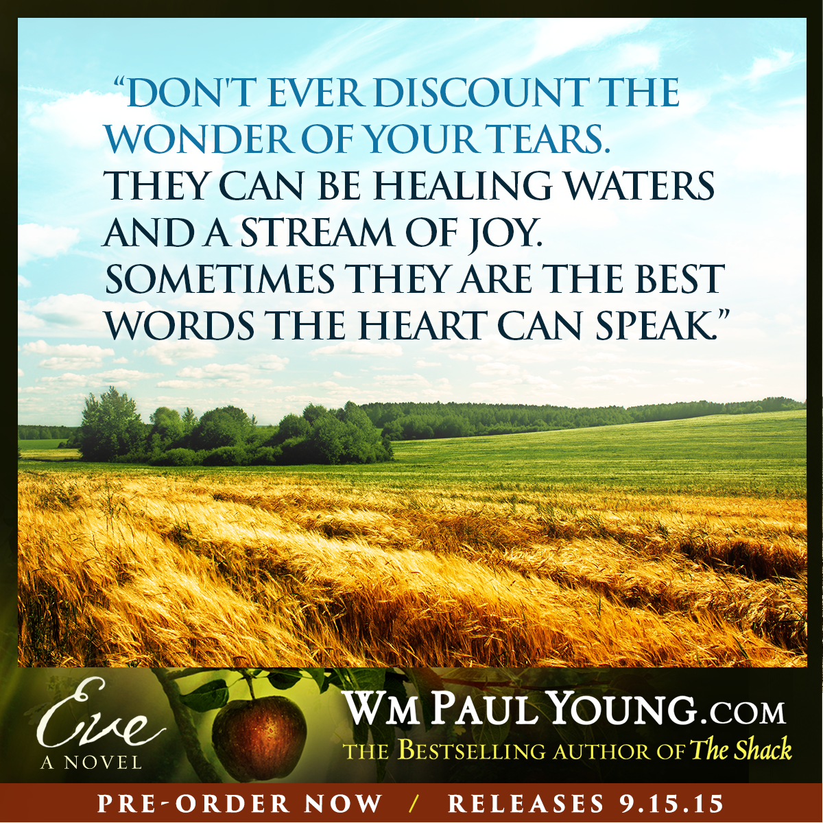 The Shack Quotes 5 Quotes From William Paul Young   Wm. Paul Young The Shack Quotes